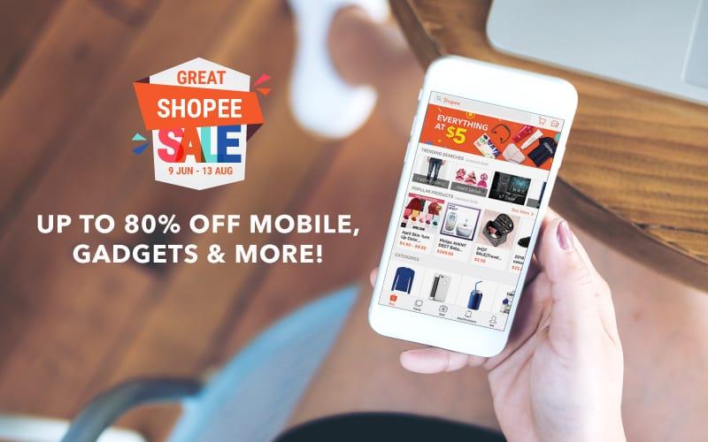 Great Shopee Sale 2017 Smartphone Deals