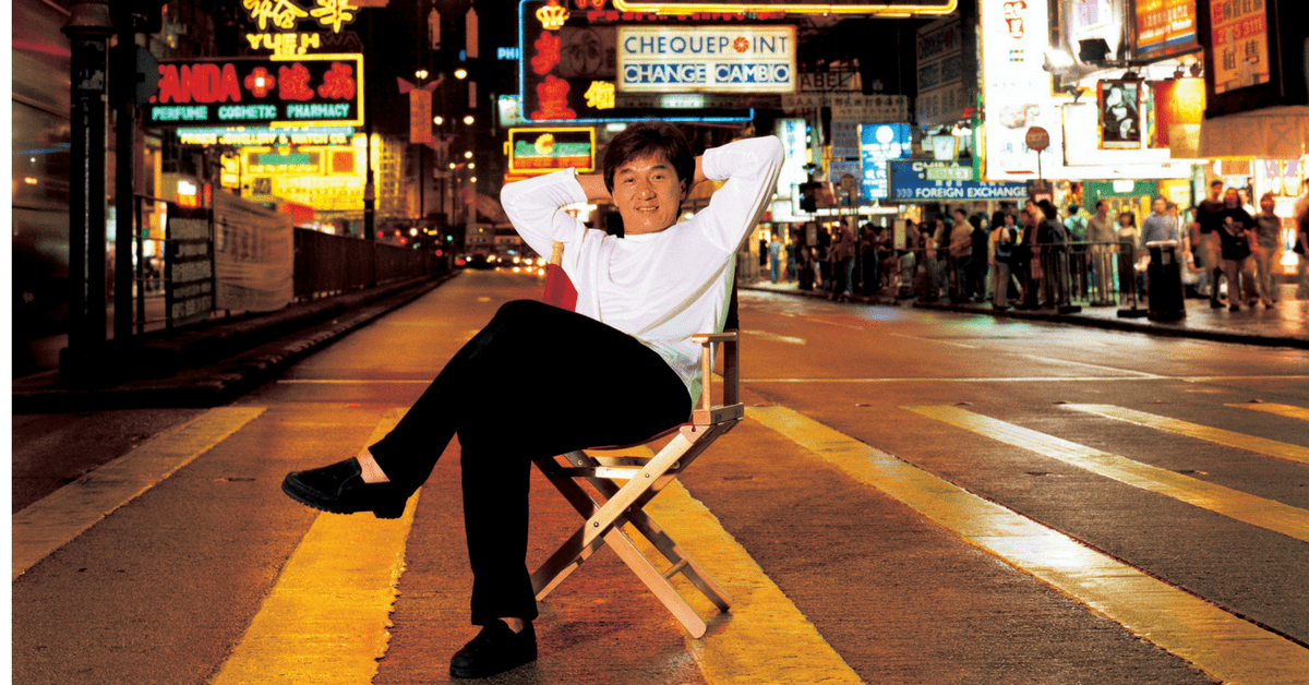 PIXELS: Shooting With Jackie Chan In The Middle Of The Road
