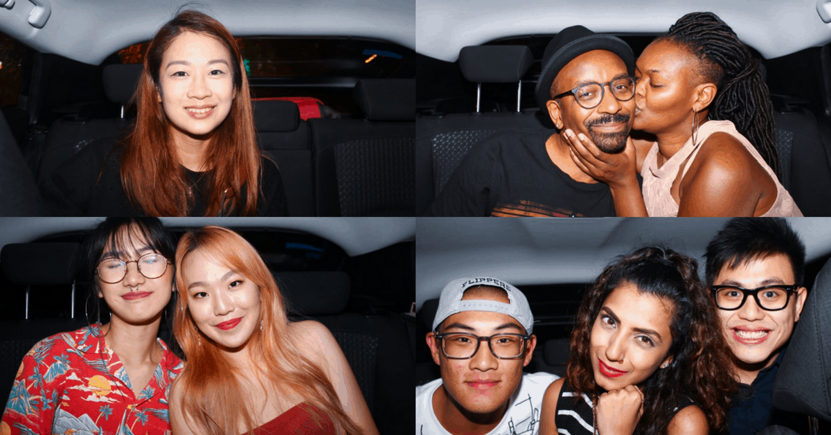Meet Singapore's Ubergrapher, The Man That Captures The Lives Of His Backseat Passengers