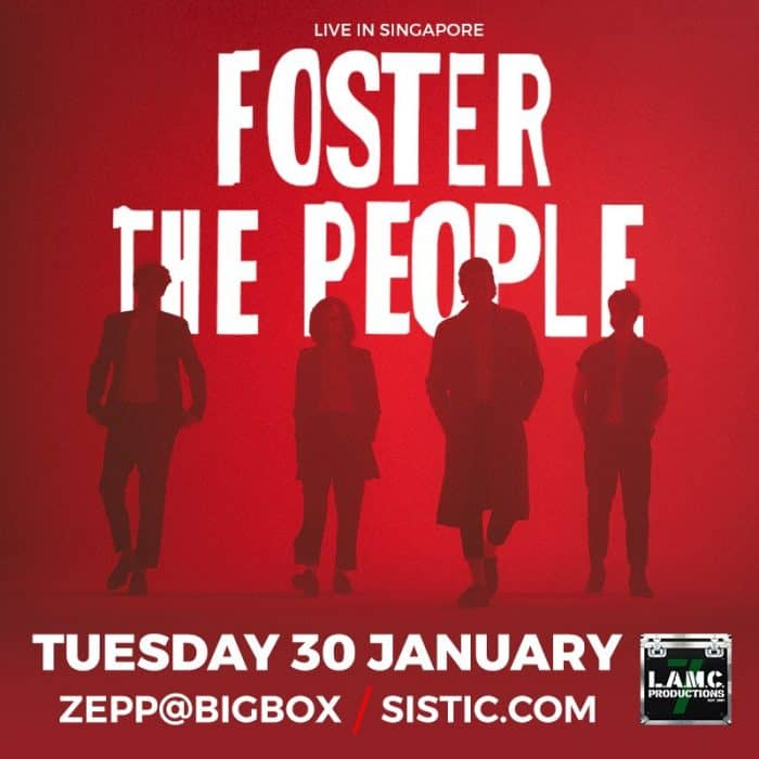 foster the people January 2018