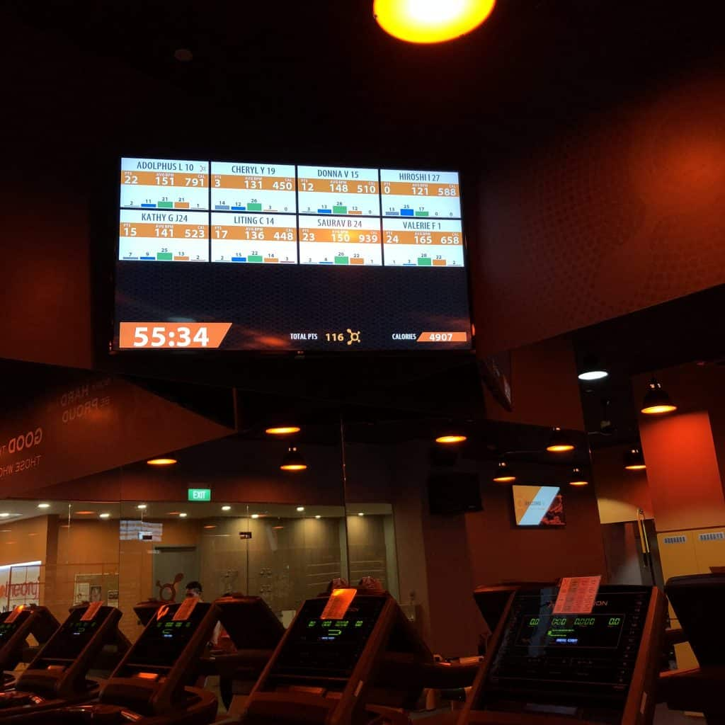 Splat points, orange theory fitness, heart rate monitor