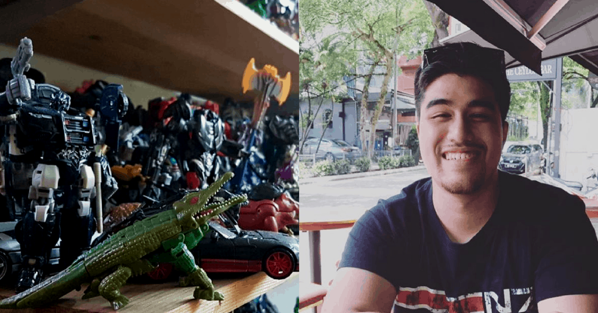 His Toy Collection Is Worth More Than $25K, But This S'porean Has No Plans To Stop