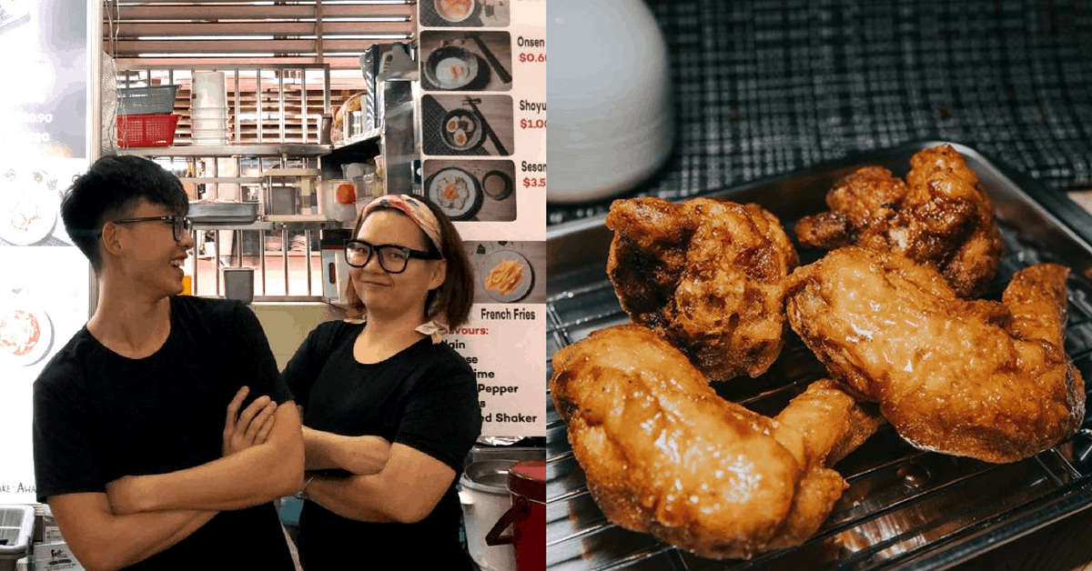 Despite 12 Hour Workdays 6 Days A Week, This Pair Of Siblings Are Not Giving Up On Their Hawker Dream