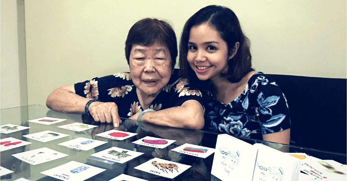 After Her Grandfather's Passing, This S'porean Youth Invented A Card Game To Help Battle Dementia