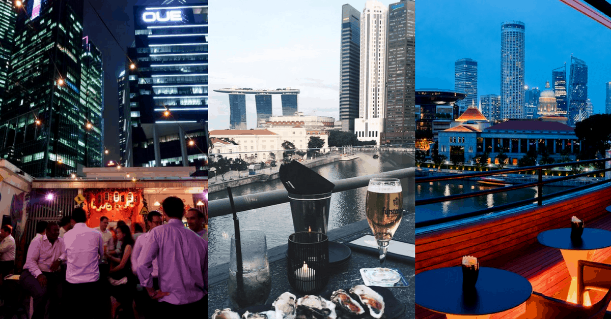 7 Rooftop Restaurants And Bars In Singapore To Dine With A View