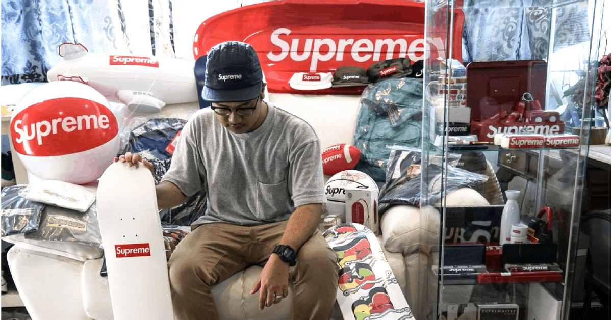 Amidst All The Streetwear Hype, This S'porean Only Collects Supreme