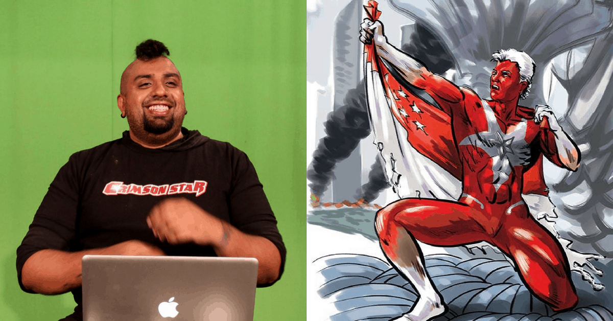 This S'porean Writer Aims To Step Up The Quality Of Local Content Through His Comic