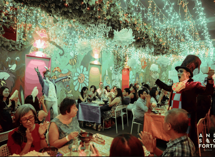 This Pop-Up Restaurant Lets You Have Dinner With Fairy Tale Princesses In Otherworldly Settings