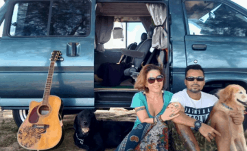 This Couple Sold Everything They Have To Travel The World In A Camper Van
