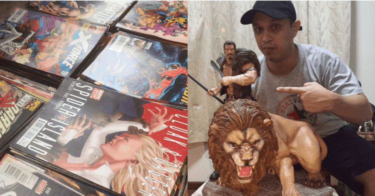 After Closing His First Store, This Comic Books Fan's Business Is Now Coming Back Bigger And Better