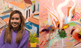 How This S'porean Went From Learning Art From Her Neighbour…