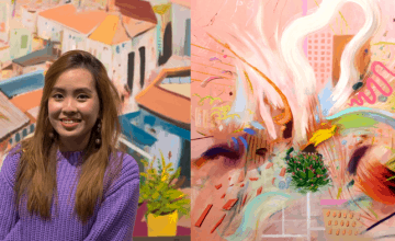How This S'porean Went From Learning Art From Her Neighbour To Winning International Awards