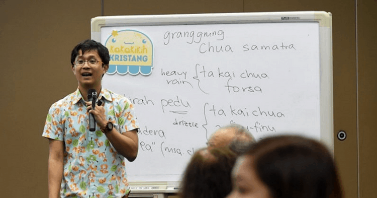 This S'porean Is Saving A 500-Year-Old Language From Extinction