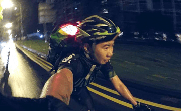 After A Long Day At Work, She Cycles From 10PM To 4AM At Lim Chu Kang: Sleepless In Singapore