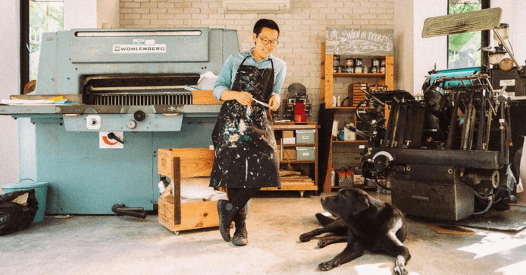 This Crafty S'porean Gives Quirky Names To Her Letterpress Machines