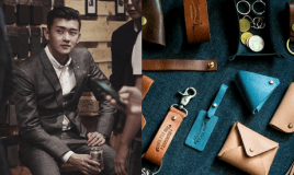 Find Out How He Went From Selling Leather Crafts For…