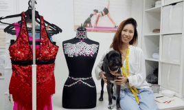 At 27 Years Old, She's The Youngest Dance Costume Tailor…
