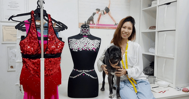 At 27 Years Old, She's The Youngest Dance Costume Tailor In Singapore