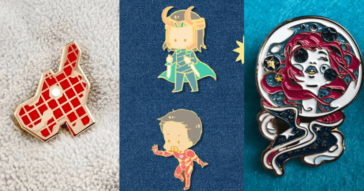 Meet These 3 S'porean Pin Makers Whose Designs Are Too Cute