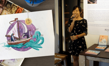 In Only Two Months, This Artist Managed To Hold Her Very First Exhibition