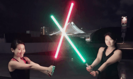 I Learnt How To Spar With A Light Saber: FUEL