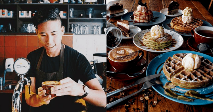 At Only 25 Years-Old, He Has A Café Which Serves Up Mouthwatering Treats With A S'porean Twist