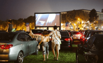 Miss Watching Movies Under The Stars? Here's How You Can Have A Drive-In Cinema Experience.