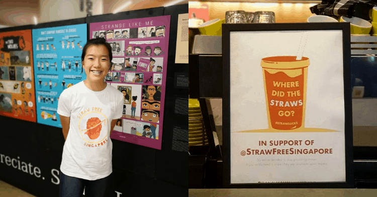 At Only 17-Years-Old, She Has Convinced More Than 20 F&B Establishments To Go Straw-Lite