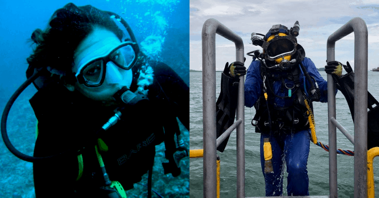 Overcoming The Odds Of A Male-Dominated Industry – Meet Singapore's First Female Commercial Diver