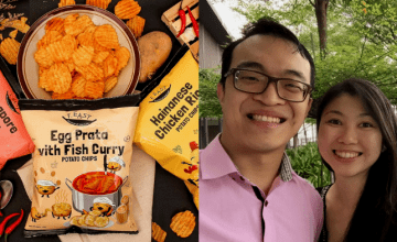 In Only A Year, They've Developed An Egg Prata With Fish Curry Potato Chip Flavour And Expanded Overseas