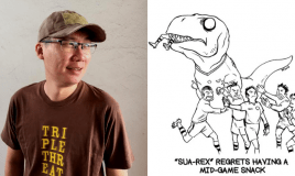 This Local Comic About A T-Rex Lets You Take A…