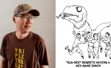 This Local Comic About A T-Rex Lets You Take A Break And See The Funny Side Of Daily Situations