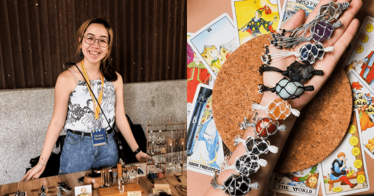 She Aims To Spread Her Love And Knowledge Of Crystals Through The Form Of Jewellery