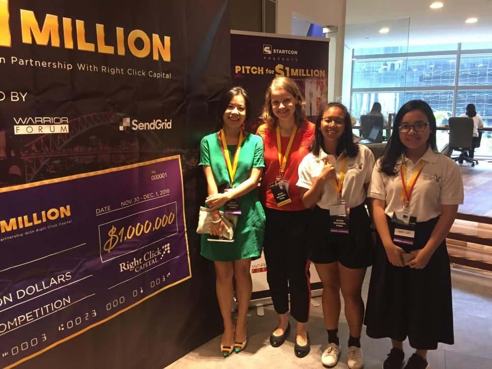 ReSET team women startup startcon