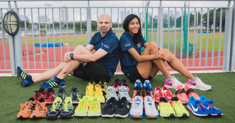 Not Everyone In S'pore Can Afford A Pair Of Sports Shoes. She Set Out To Change That.