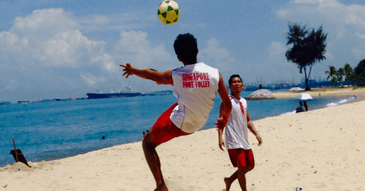 Foot Volley Is Still Not Considered An Established Sport In S'pore, And This Man's Aiming To Change That.