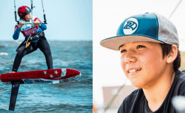 This 12-Year-Old Singaporean Kiteboarder Is Making Waves Internationally