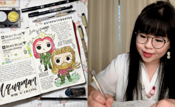 She Takes Journaling To A Whole New Level With Her Adorable Illustrations