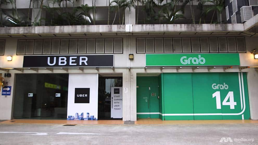 Uber and Grab offices