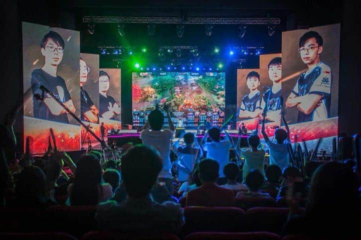 Finals of Vainglory Worlds 2017 held in Singapore